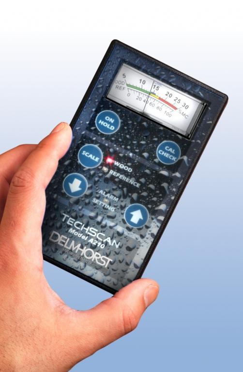 Techscan pinless building materials moisture meter - Restoration