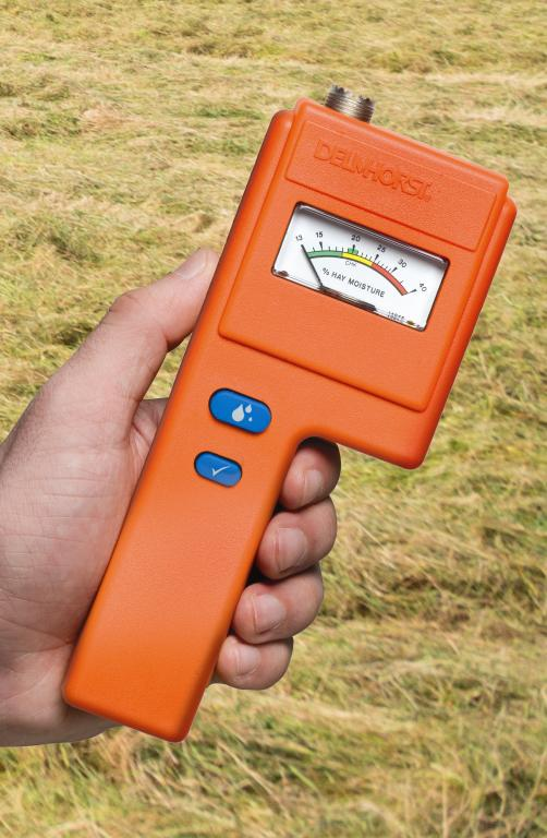 Hay moisture meter, F-6