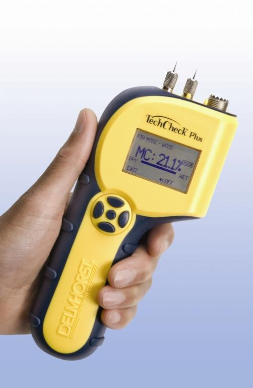 TechCheckPlus 2-in-1 building materials moisture meter - Inspection