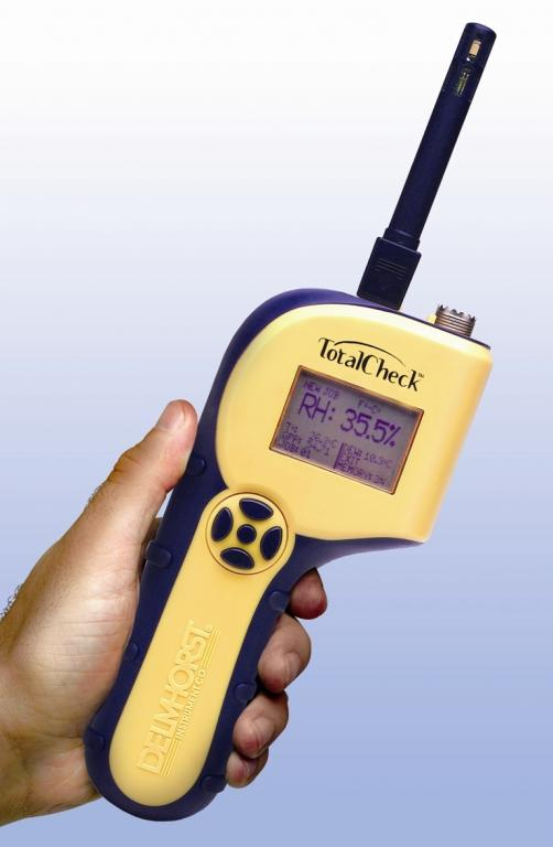 TotalCheck 3-in-1 building materials moisture meter - Inspection