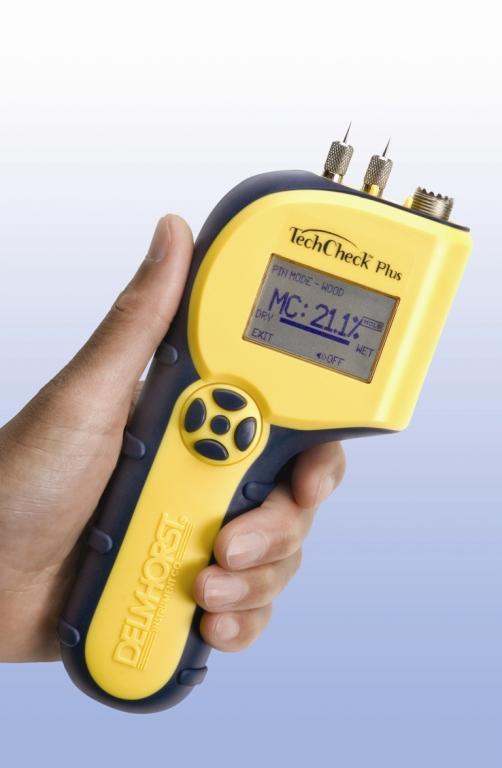 TechCheckPlus 2-in-1 building materials moisture meter - Restoration