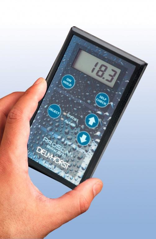 ProScan pinless building materials moisture meter - Inspection