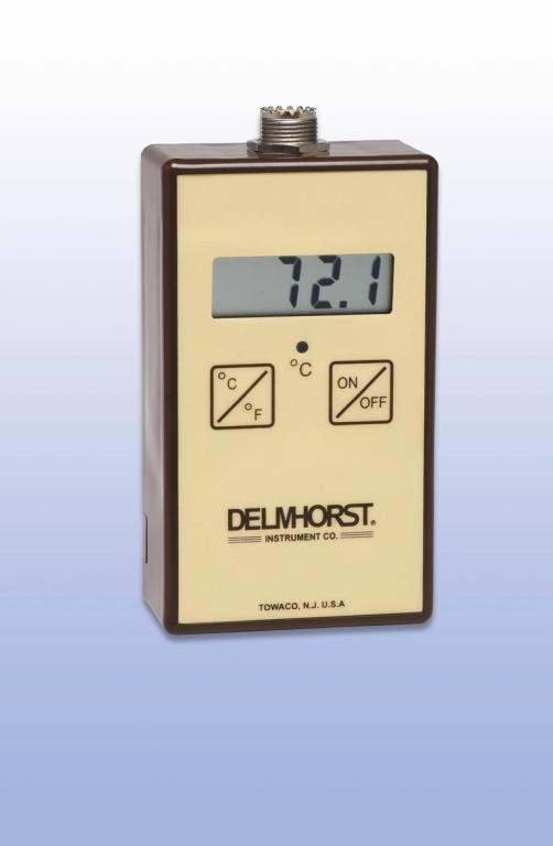 Solids & air temperature meter, TM-100